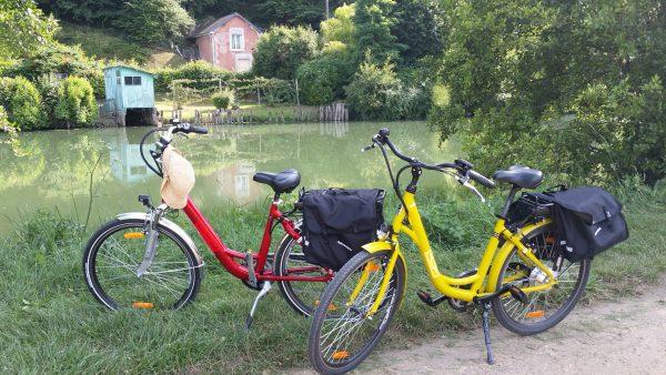 Bikes cycling near Hotel de France Vallee du Loir