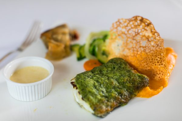 Hotel de France herb crusted cod ultimate fish restaurant